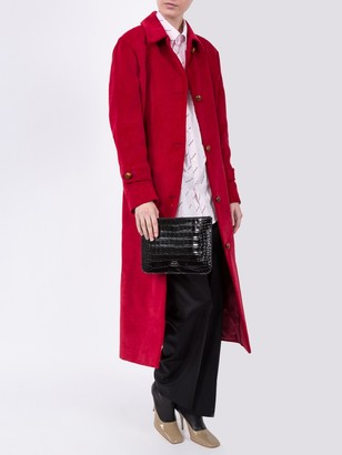 Giuliva Heritage Collection Long Red Coat