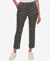 Tommy Hilfiger Daisy-Print Slim Pants, Created for Macy's