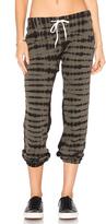 Monrow Croc Tie Dye Vintage Sweatpants