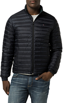 Tommy Hilfiger Packable Down Bomber Jacket, Sky Captain