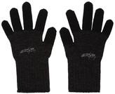 Yohji Yamamoto Black Military Gloves