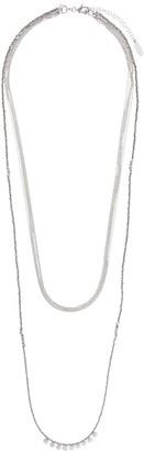 Brunello Cucinelli Layered Chain Necklace