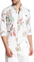 Lindbergh AOP Flower Long Sleeve Regular Fit Shirt