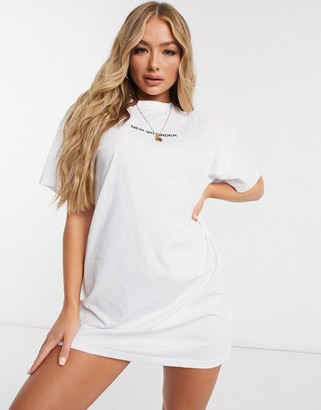 New Girl Order logo t-shirt dress