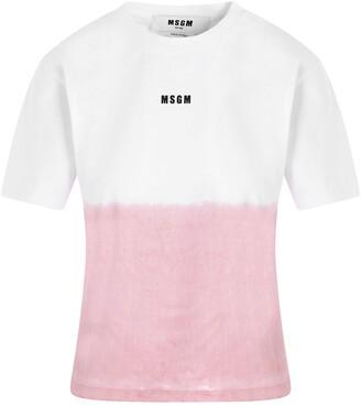 MSGM Logo Degrade T-Shirt