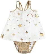 Little Marc Jacobs Stars Printed Lycra Top & Diaper Cover