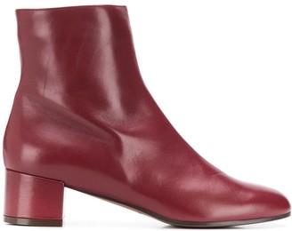L'Autre Chose Polished Ankle Boots