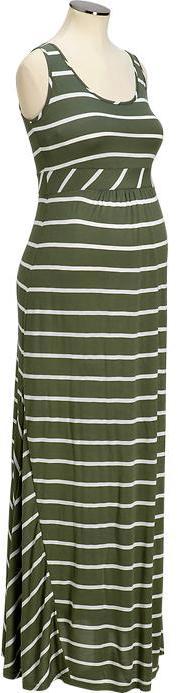 Old Navy Maternity Striped Maxi-Tank Dresses