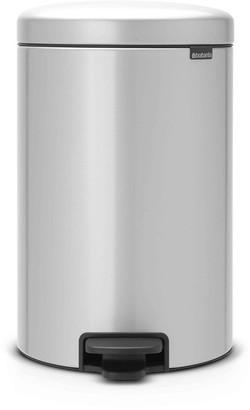 Brabantia Pedal Bin NewICON 20L Metallic Grey