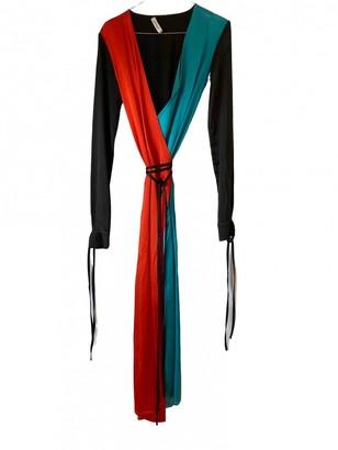 ATTICO Orange Silk Dresses