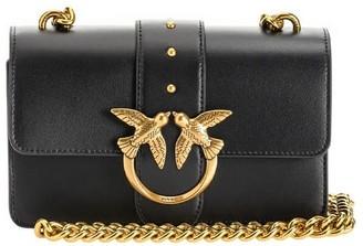 Pinko Love Mini Icon Simply 4 C Black Crossbody Bag
