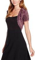 Taifun Women's Short Sleeve Bolero - Purple -