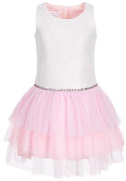 Bonnie Jean Little Girls Sequined Tutu Dress