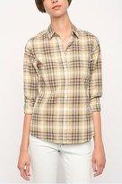 Lark & Wolff by Steven Alan Classic Plaid Buttonfront Shirt