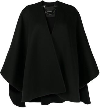 Ermanno Scervino Oversized Cape Jacket