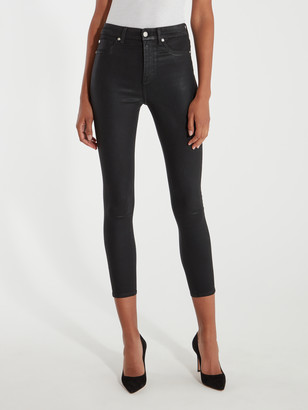 7 For All Mankind High Rise Ankle Skinny Jeans