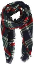 Natural Feelings Soft Plaid Tartan Fashion Blanket Pashmina Scarf Shawl Wraps (D: Kahki Mix)