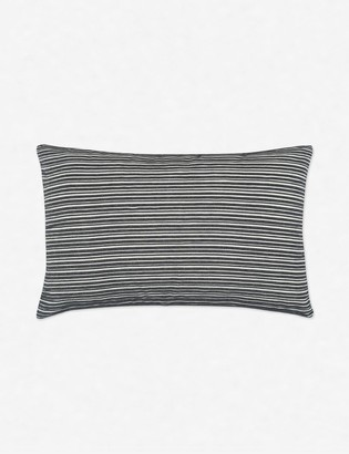 Lulu & Georgia Emma Lumbar Pillow, Black
