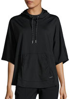 Betsey Johnson Hooded Pullover Poncho