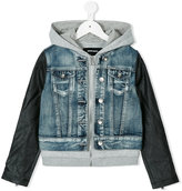 Diesel hooded denim jacket