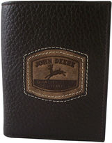 John Deere Leather Trifold Wallet