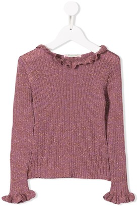 Bonpoint ribbed knit sweater