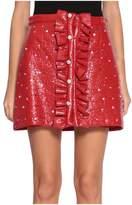 Au Jour Le Jour Wool Smeared Skirt
