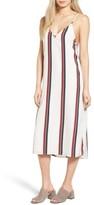Amuse Society Women's Stripe Midi Dress