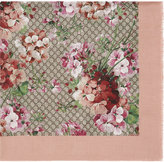 Gucci Modal silk Blooms print shawl - women - Silk/Modal - One Size