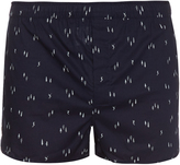 Derek Rose Modern-fit Skier-print boxer shorts