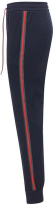 Gucci Cotton Blend Piquet Track Pants