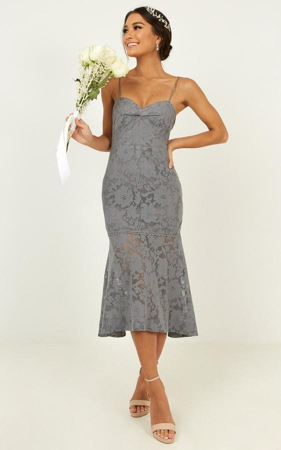 Showpo Endless loving dress in blue - 4 (XXS) Bridesmaid