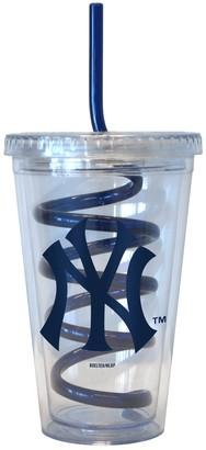 New York Yankees Boelter Swirl Straw Tumbler