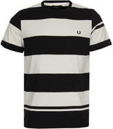 Fred Perry T-Shirt Bold Stripe Navy / White M2529 608