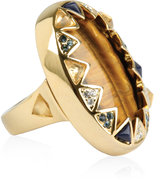 House Of Harlow 1960 Tigers Eye Ring