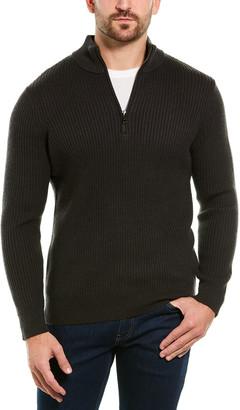 Magaschoni 1/2-Zip Wool Sweater