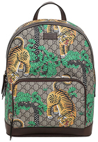 Gucci Bengal Print Gg Supreme Backpack