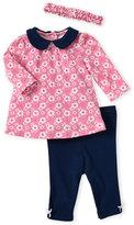 Little Me Newborn/Infant Girls) Two-Piece Floral Tunic & Leggings Set