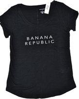 Banana Republic Women's Graphic Short Sleeve Scoop Neck T-Shirt