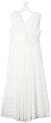 La Stupenderia Ruffled Dress