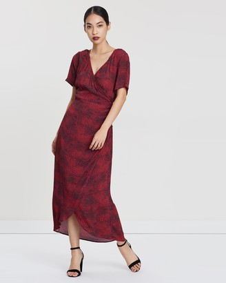 Third Form The Hunted Wrap Maxi Dress