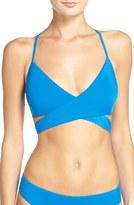 Laundry by Shelli Segal Women's Beaded Bikini Top