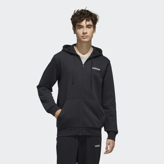 adidas FEELCOZY Fleece Hooded Track Jacket
