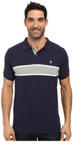 U.S. Polo Assn. Engineered Chest Stripe Pique Polo Shirt