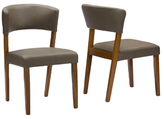 Baxton Studio Montreal Dining Chairs (Set of 2)