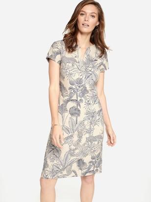 J.Mclaughlin Ariana Dress in Palm Jacquard