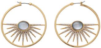 Lulu Frost Rising Sun Hoop Earrings