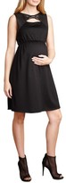 Maternal America Women's Bow Shift Dress