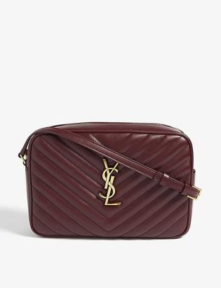 Saint Laurent Quilted camera bag