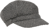 Accessorize Basket Weave Baker Boy Hat